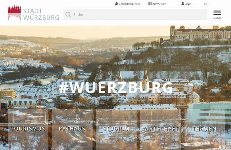 Link zur Webseite der Stadt Würzburg