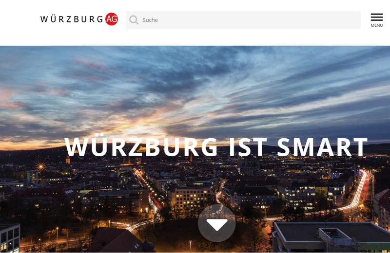 Link zur Webseite der Würzburg AG