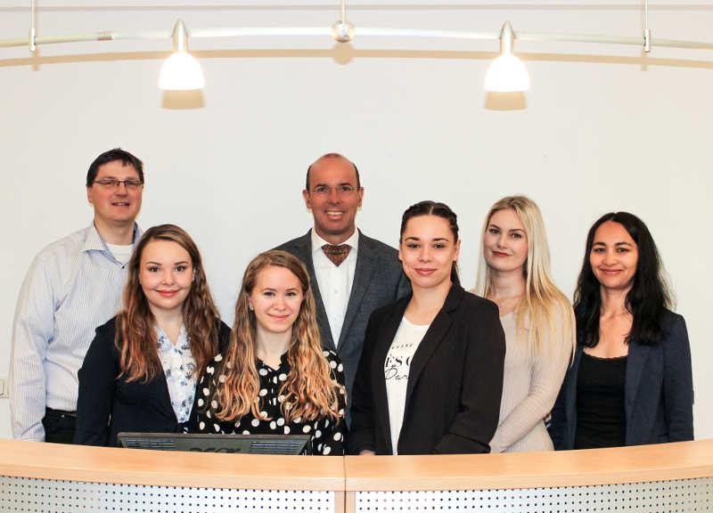 Team des Notariats (mittig: Andreas Böhmer)