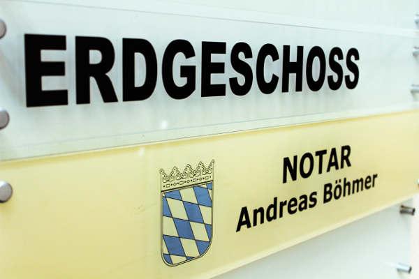 Das Notariat Andreas Böhmer befindet sich im Erdgeschoss der Koellikerstraße 13.